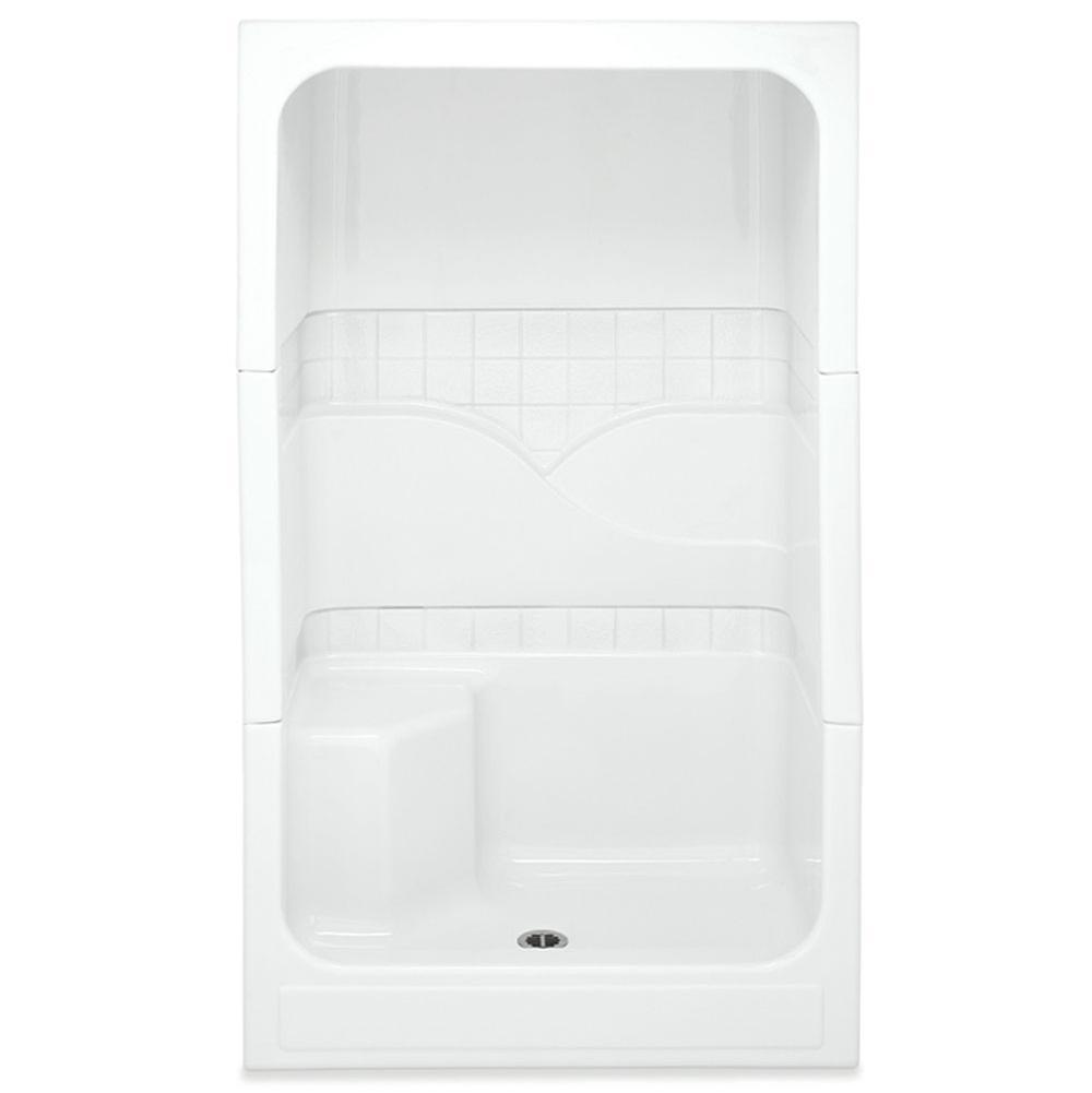 Aquatic Shower Enclosures Biscuit | Carr Plumbing Supply - Jackson ...
