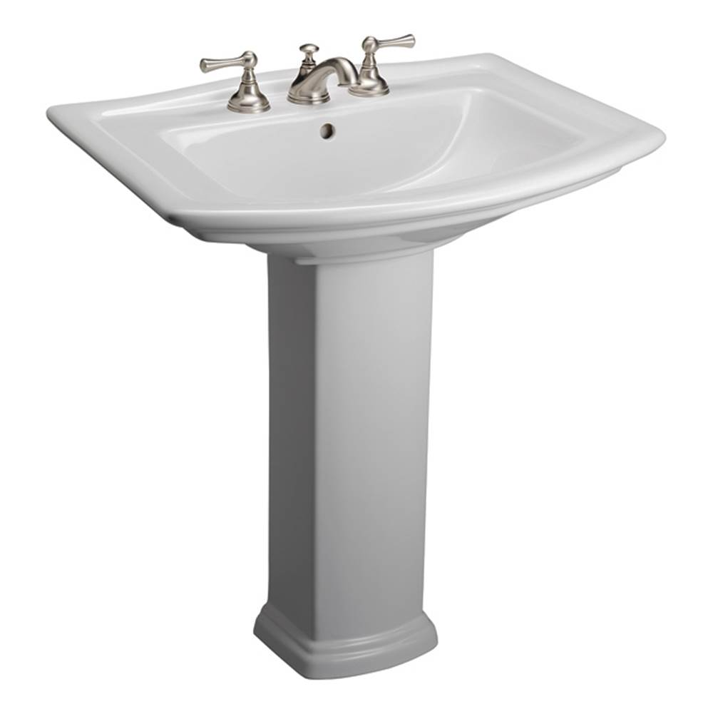 Barclay Complete Pedestal Bathroom Sinks item 3-494WH