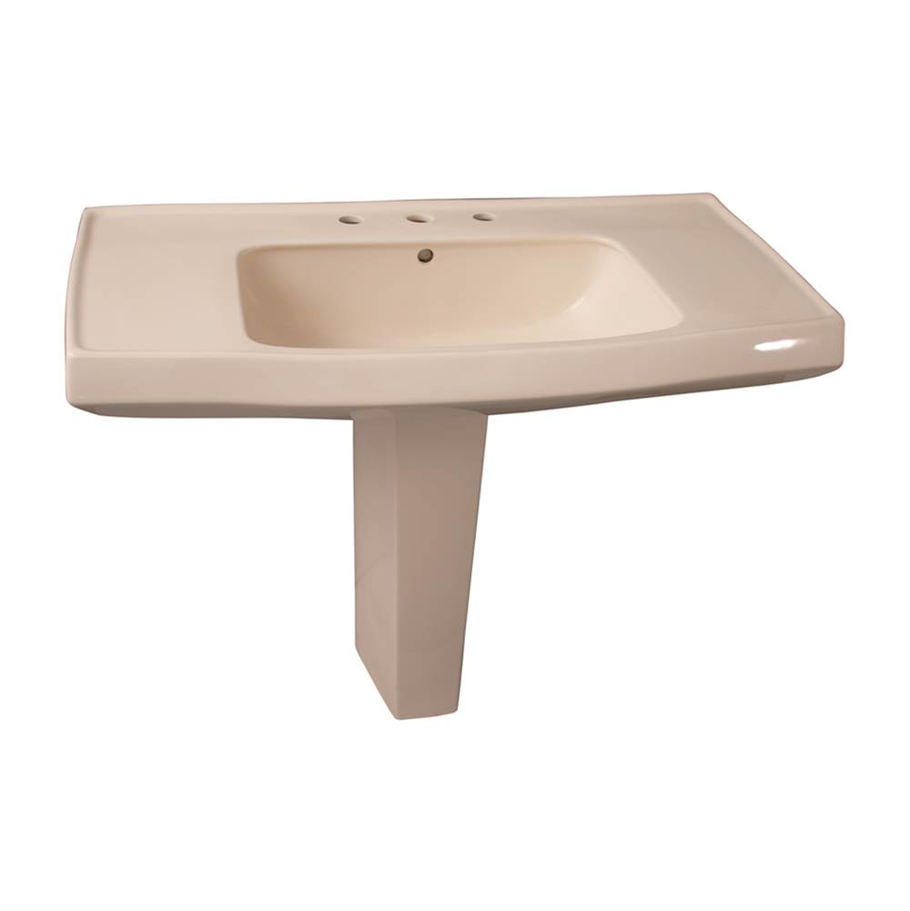 Barclay Pedestal Only Pedestal Bathroom Sinks item C/3-950BQ