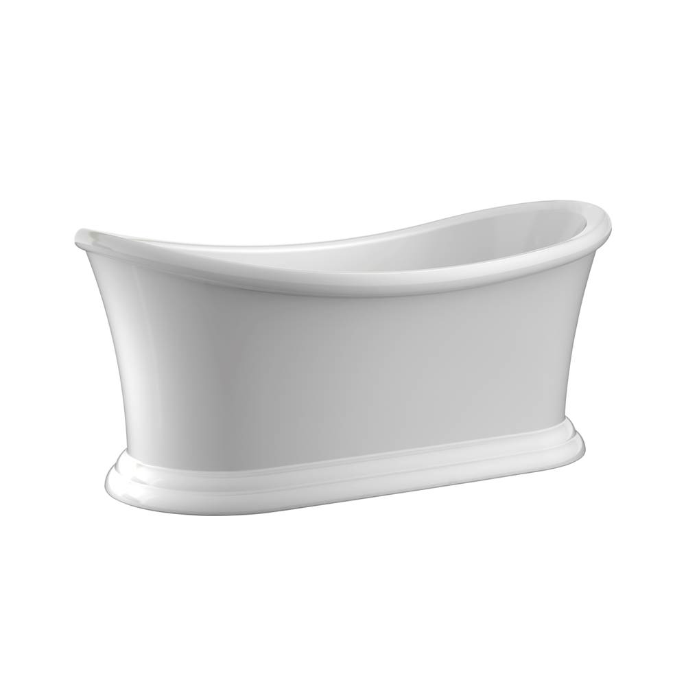 Barclay Free Standing Soaking Tubs item ATDSN67B-WH
