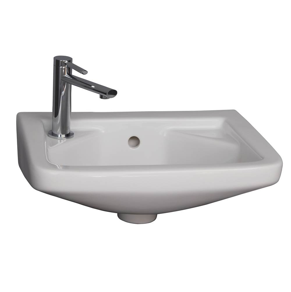 Barclay Wall Mount Bathroom Sinks item 4L-101WH