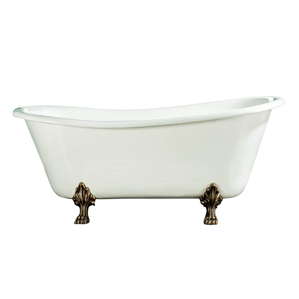 Barclay Clawfoot Soaking Tubs item CTSN67LP-WH-ORB