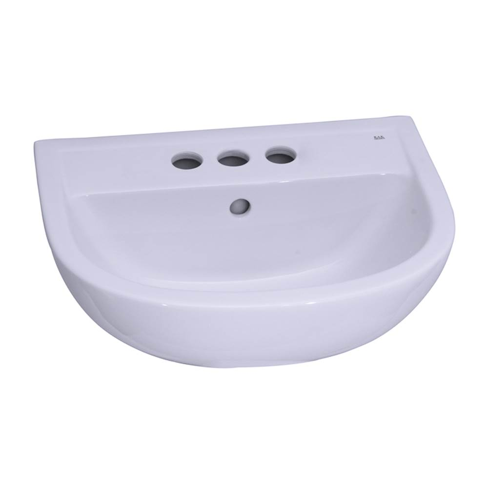 Barclay Wall Mount Bathroom Sinks item 4-614WH