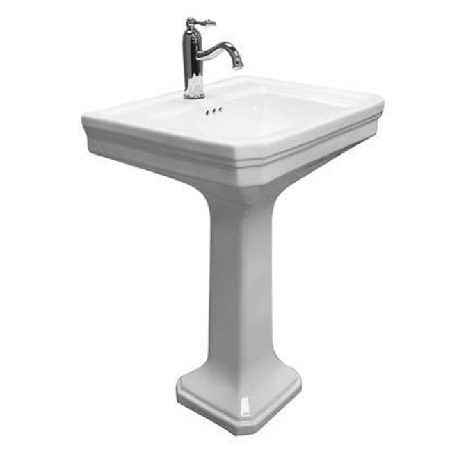 Barclay Complete Pedestal Bathroom Sinks item 3-9118WH