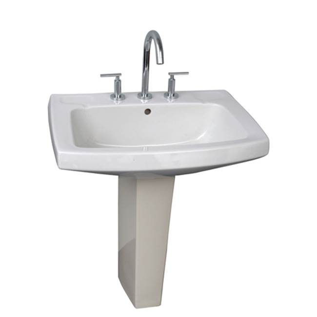 Barclay Complete Pedestal Bathroom Sinks item 3-978WH