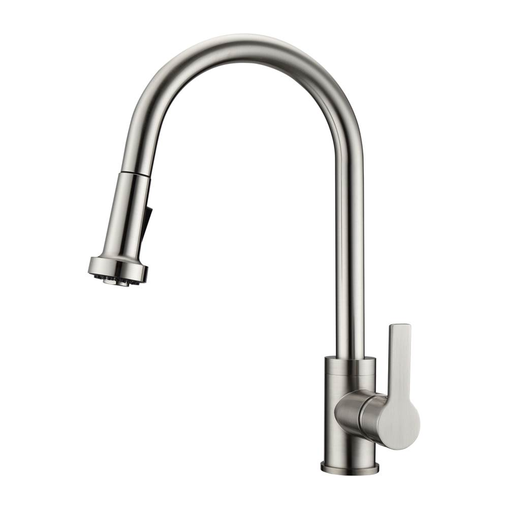 Barclay Pull Down Faucet Kitchen Faucets item KFS412-L2-BN
