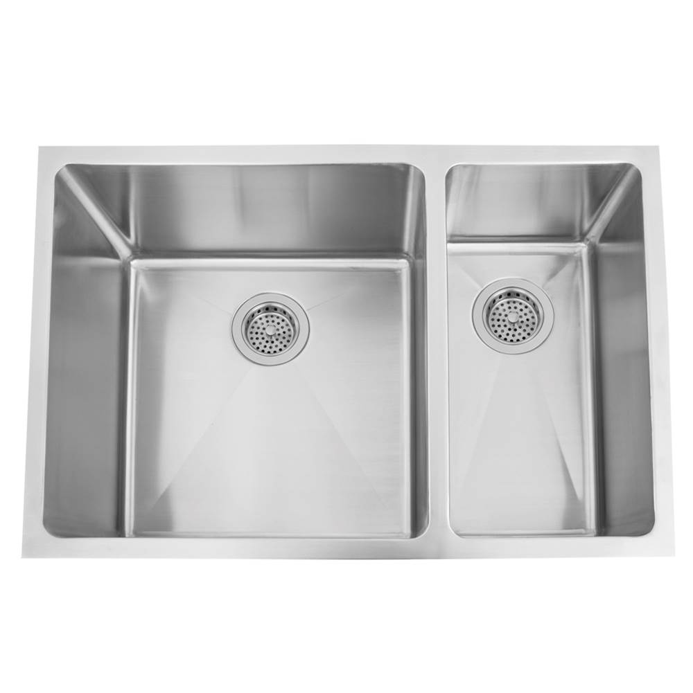 Barclay Undermount Kitchen Sinks item KSSDB2526-SS