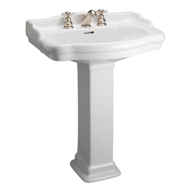 Barclay Complete Pedestal Bathroom Sinks item B/3-858WH