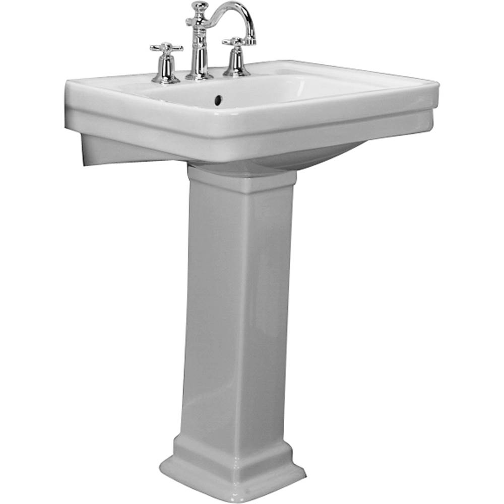 Barclay Complete Pedestal Bathroom Sinks item B/3-644WH
