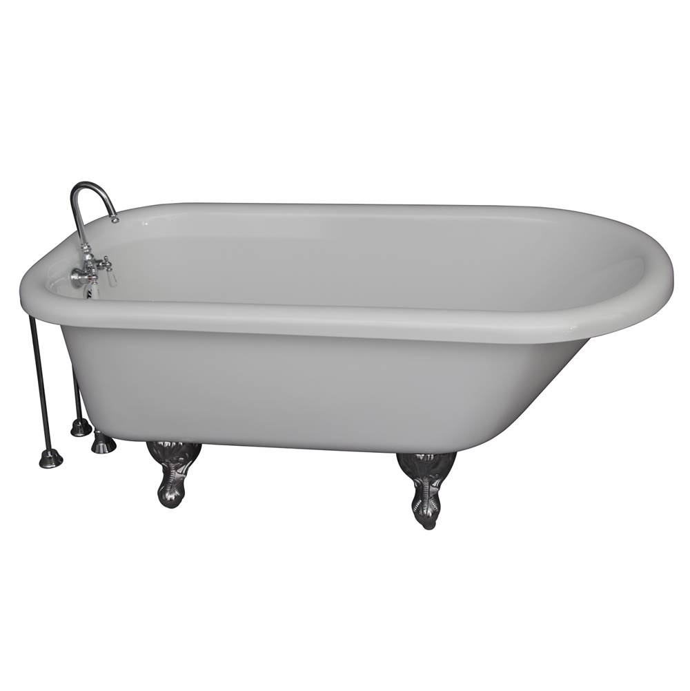 Barclay Clawfoot Soaking Tubs item TKADTR60-WCP9