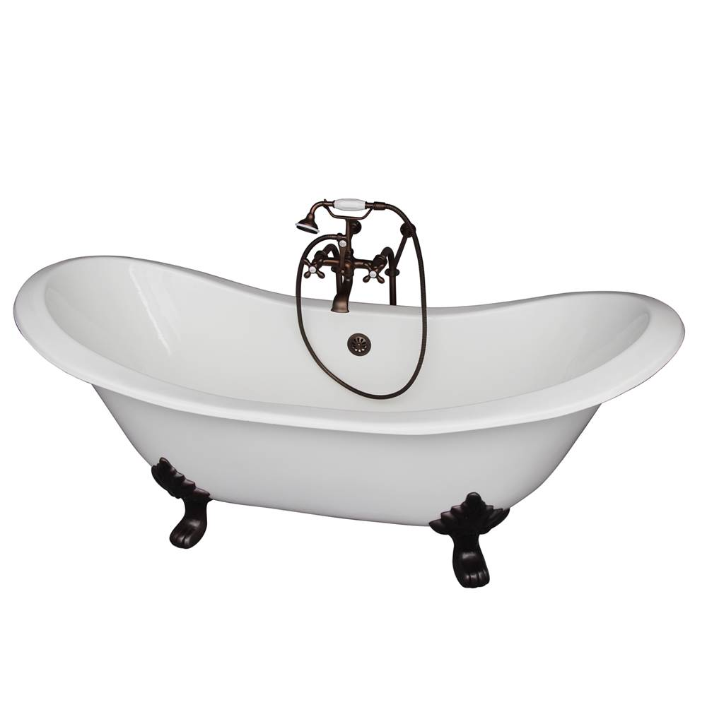 Barclay Clawfoot Soaking Tubs item TKCTDSN-ORB2