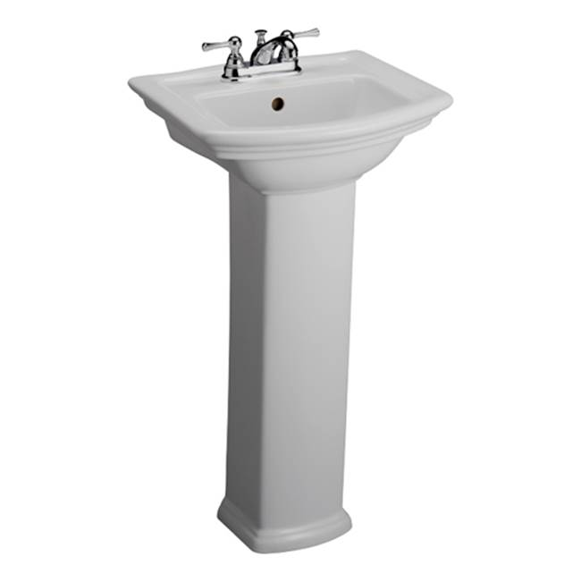 Barclay Complete Pedestal Bathroom Sinks item B/3-381WH