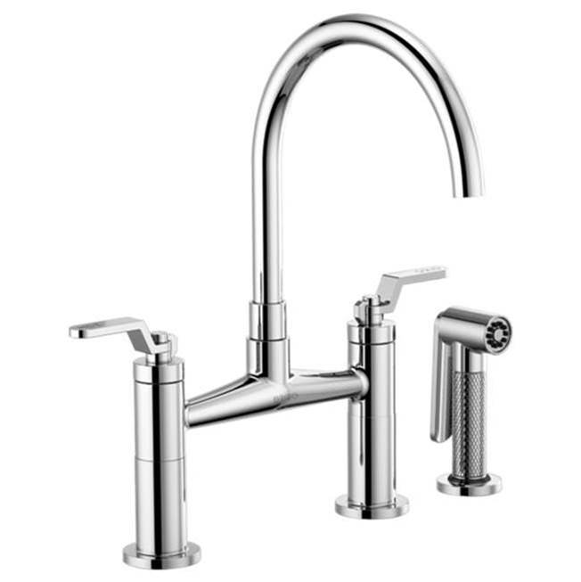 Brizo Bridge Kitchen Faucets item 62544LF-PC