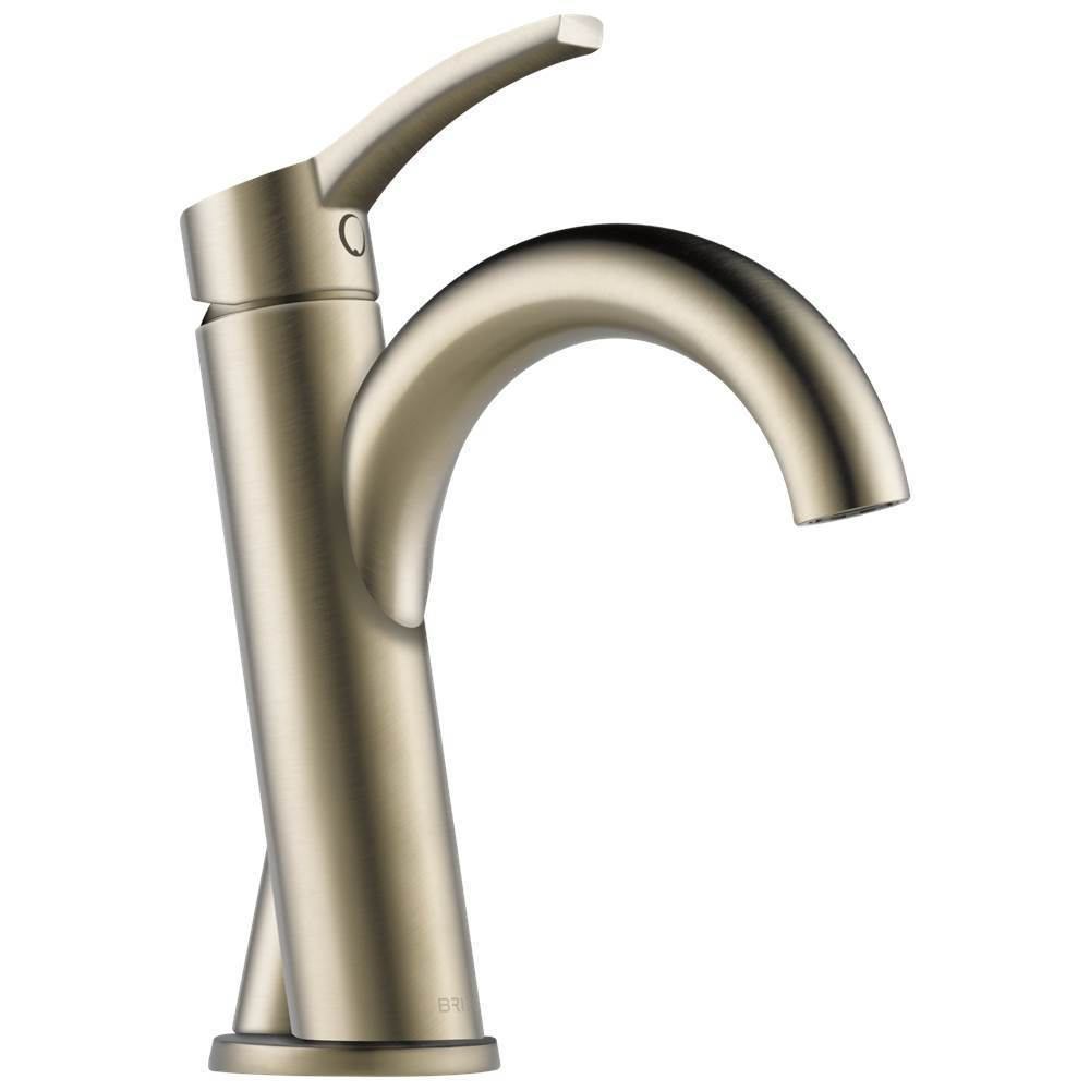 Brizo Single Hole Bathroom Sink Faucets item 65075LF-BN-ECO