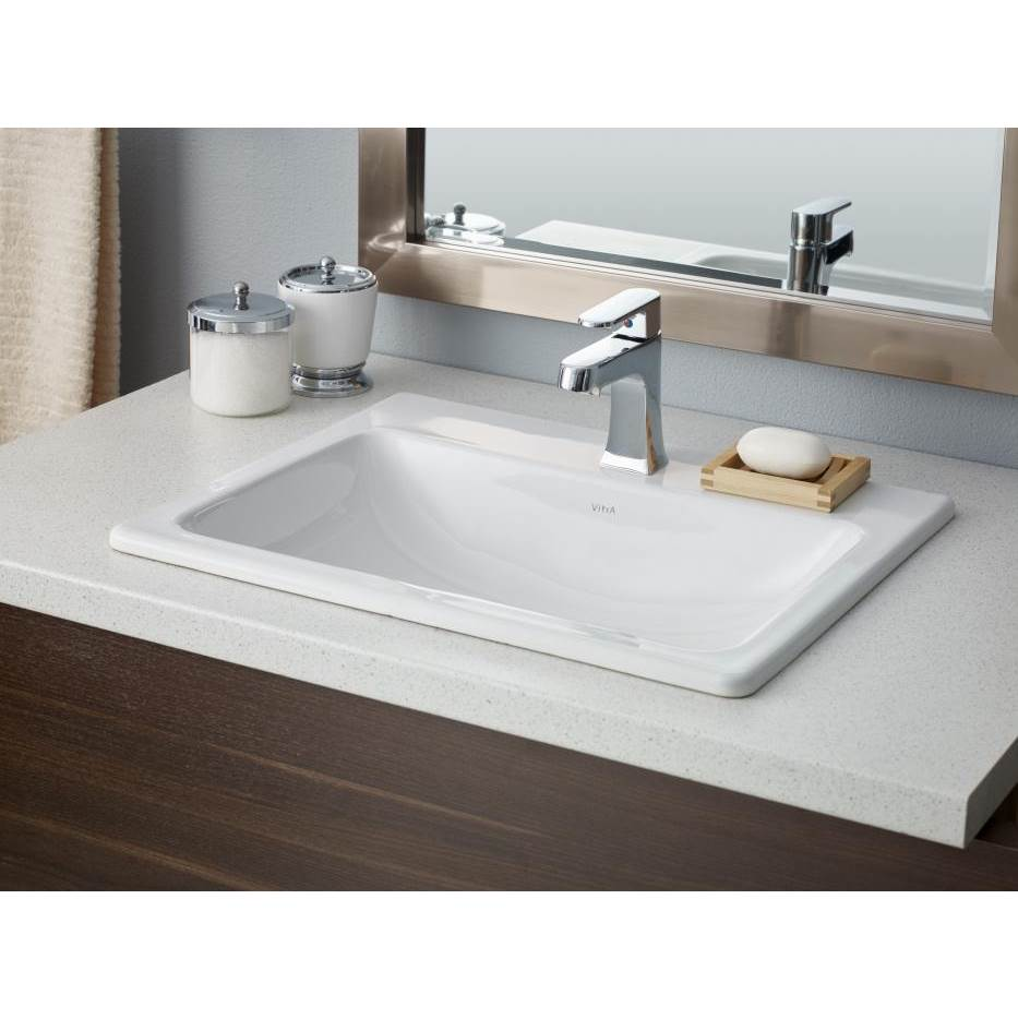 Cheviot Products Drop In Bathroom Sinks item 1185-WH-1