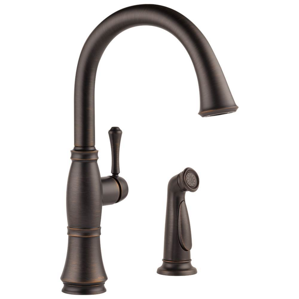 Delta Faucet Deck Mount Kitchen Faucets item 4297-RB-DST