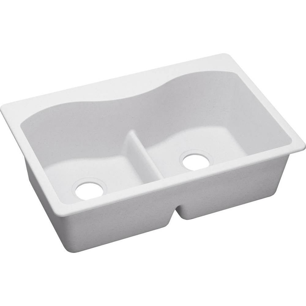 Elkay Drop In Kitchen Sinks item ELGLB3322WH0