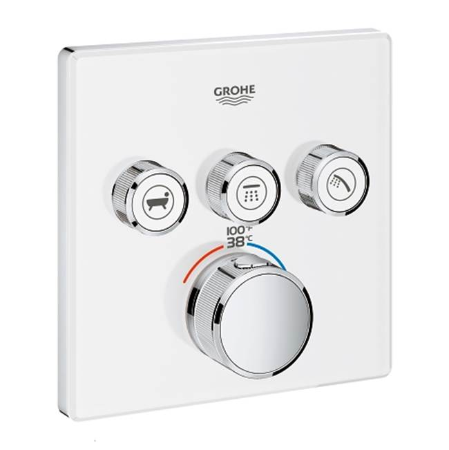 Grohe Thermostatic Valve Trims With Integrated Diverter Shower Faucet Trims item 29165LS0