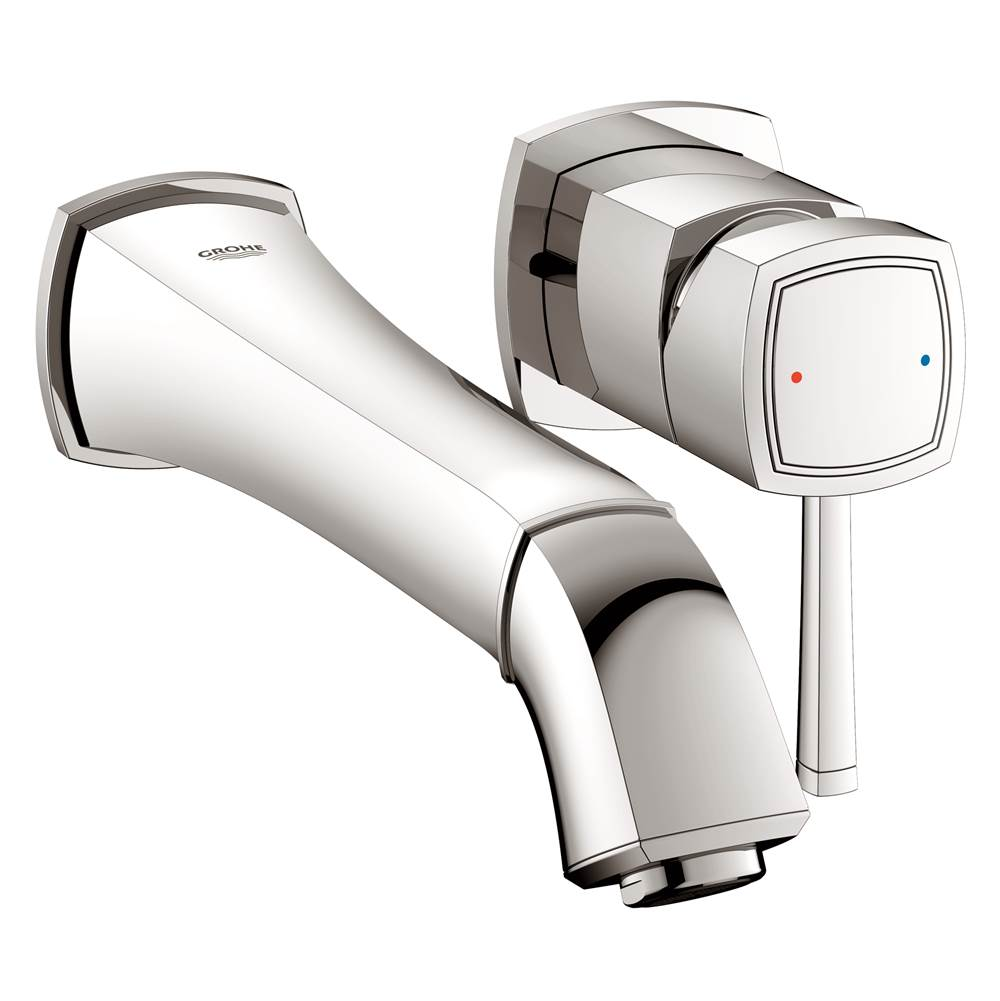 Grohe Faucets Bathroom Sink Faucets Wall Mounted | Carr Plumbing ...