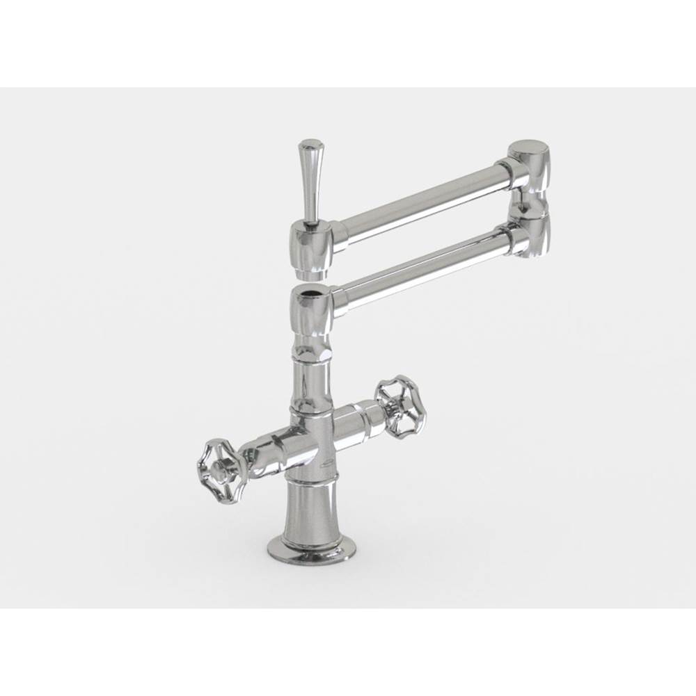 Jaclo Deck Mount Kitchen Faucets item 1020-X-BSS