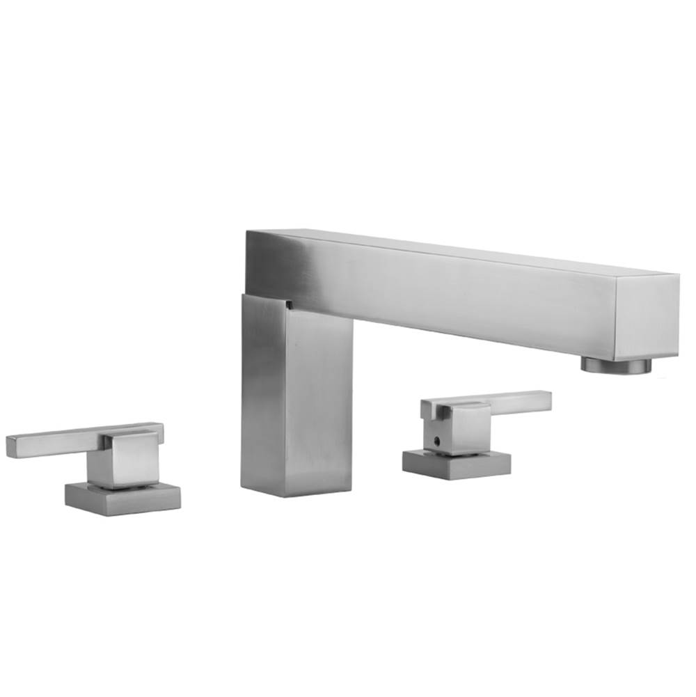 Jaclo Deck Mount Tub Fillers item 4404-T670-TRIM-SCU