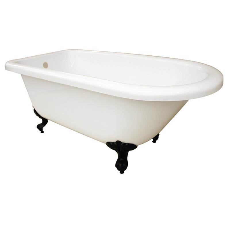 Maidstone Clawfoot Soaking Tubs item 1202CL60-7-4-LP