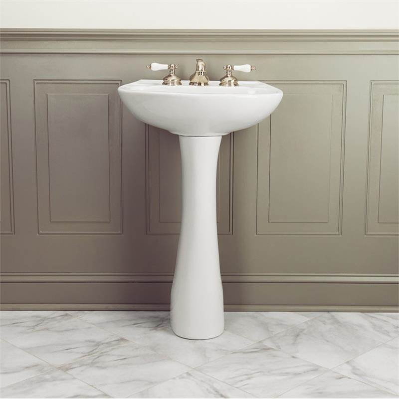 Maidstone Complete Pedestal Bathroom Sinks item PDS6-8D