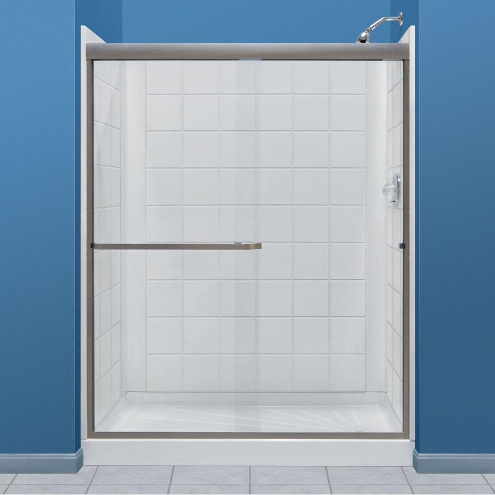 Mustee And Sons Shower Wall Shower Enclosures item 760T-30WHT