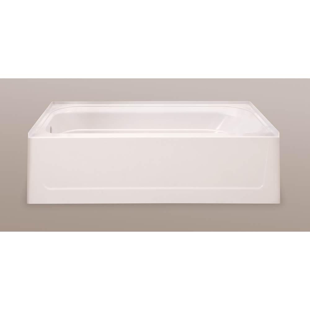 Mustee And Sons Three Wall Alcove Soaking Tubs item T6030LBN
