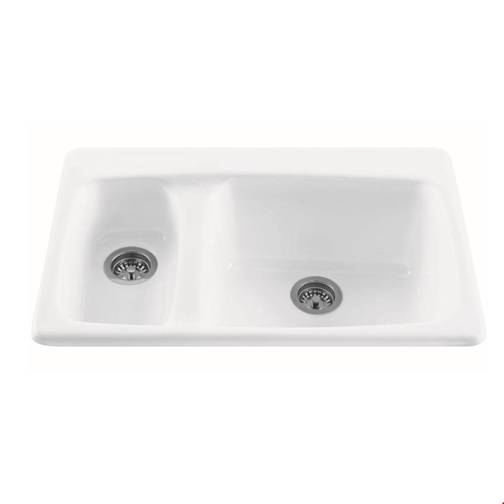 MTI Baths Drop In Kitchen Sinks item MBKS10W