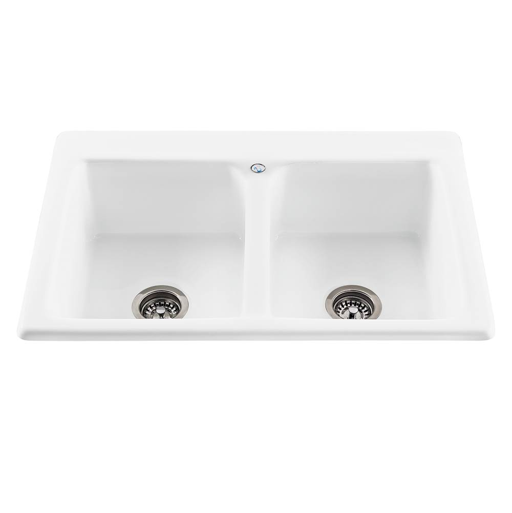 MTI Baths Drop In Kitchen Sinks item MBKS30B