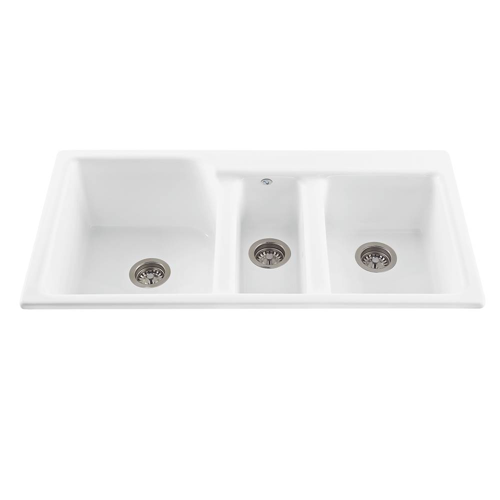 MTI Baths Drop In Kitchen Sinks item MBKS60-BI