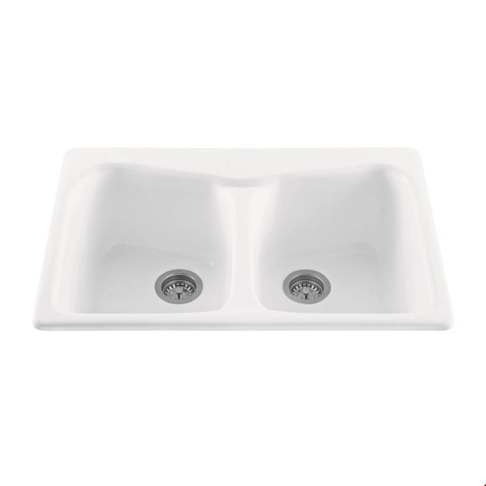 MTI Baths Drop In Kitchen Sinks item MBKS80GRP1