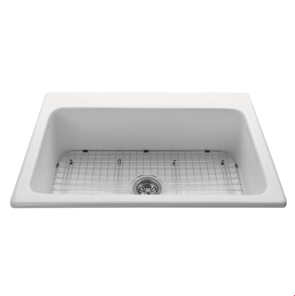 MTI Baths Drop In Kitchen Sinks item MBLSG