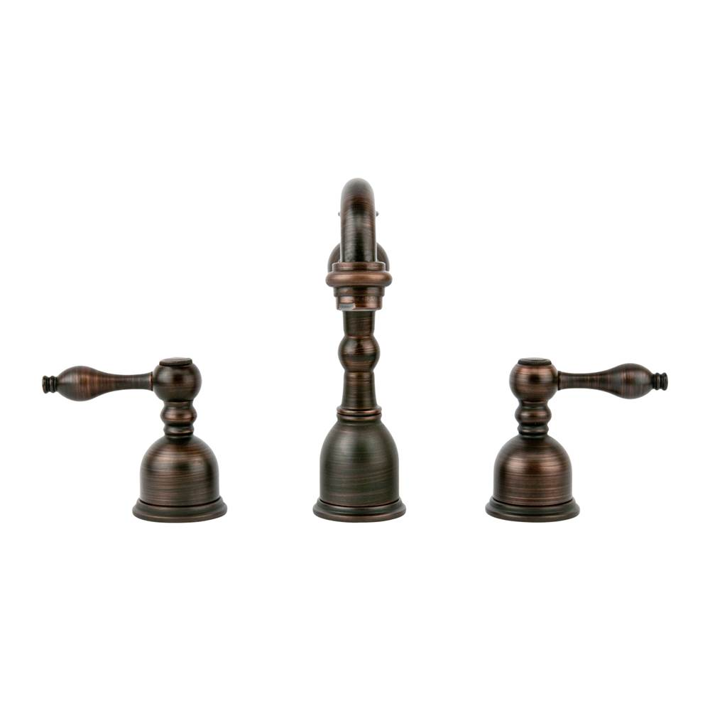 Premier Copper Products Widespread Bathroom Sink Faucets item B-WS01ORB