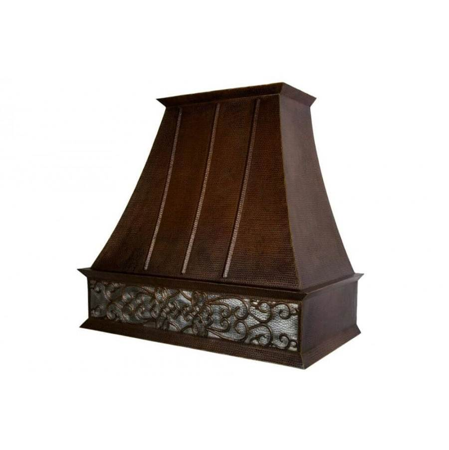 Premier Copper Products Wall Mounted Range Hoods item HV-EURO38S-NB-C2036BP-B