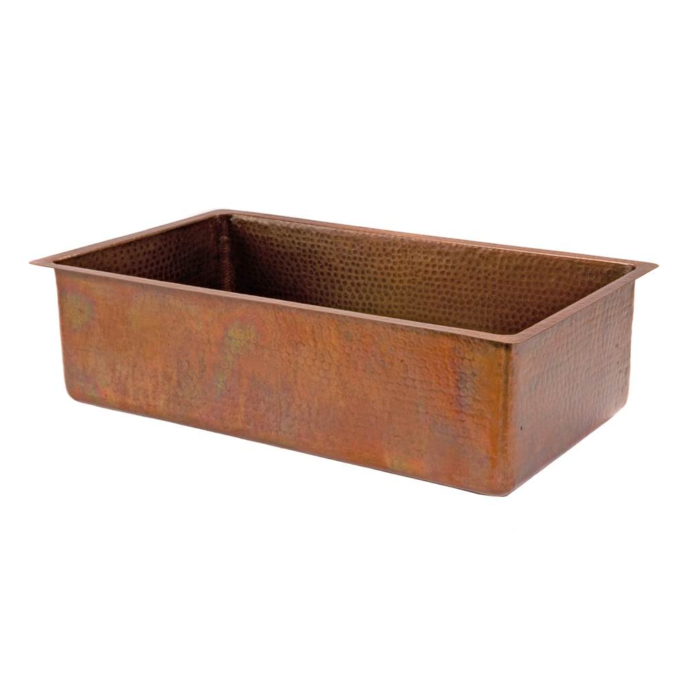 Premier Copper Products Undermount Kitchen Sinks item KSB33199