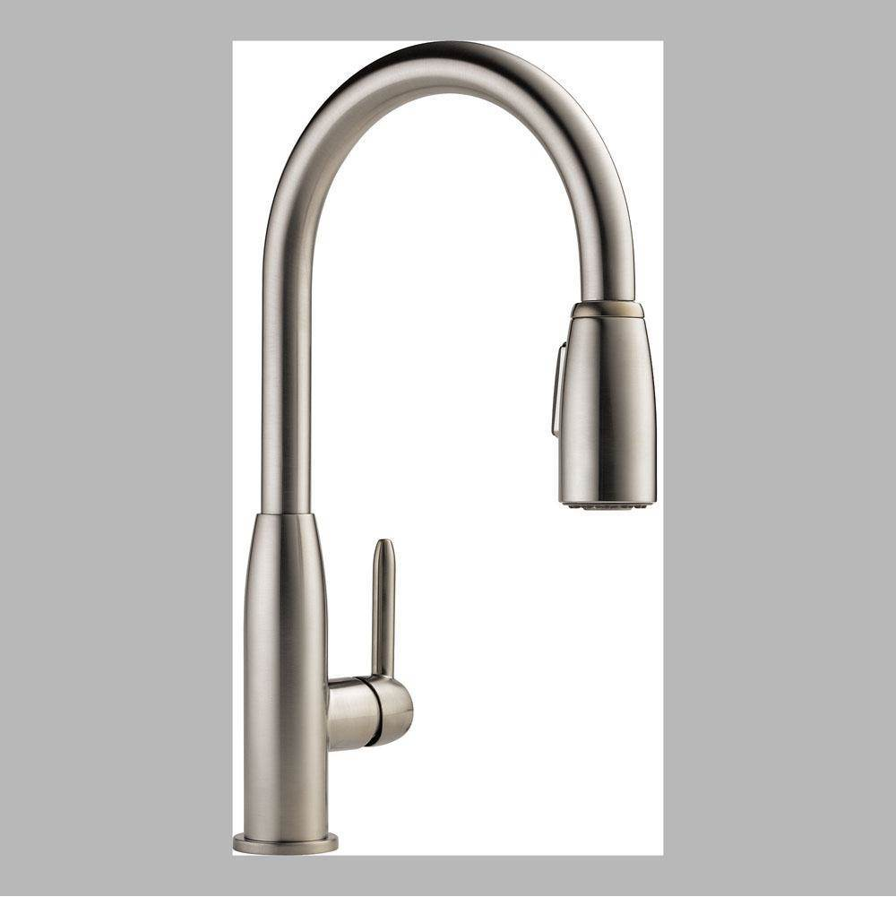 Peerless Pull Down Faucet Kitchen Faucets item P188103LF-SS