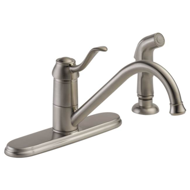 Peerless Deck Mount Kitchen Faucets item P188700LF-SS-W