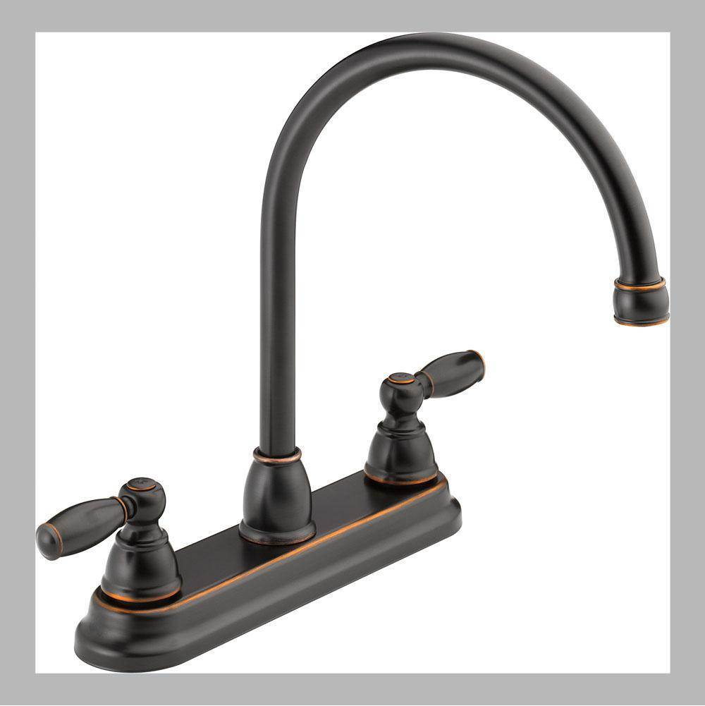 Peerless Deck Mount Kitchen Faucets item P299565LF-OB