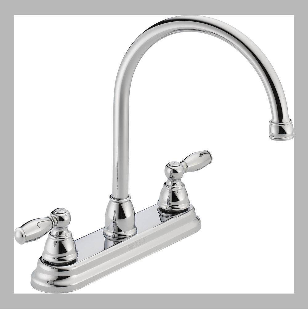 Peerless Deck Mount Kitchen Faucets item P299565LF