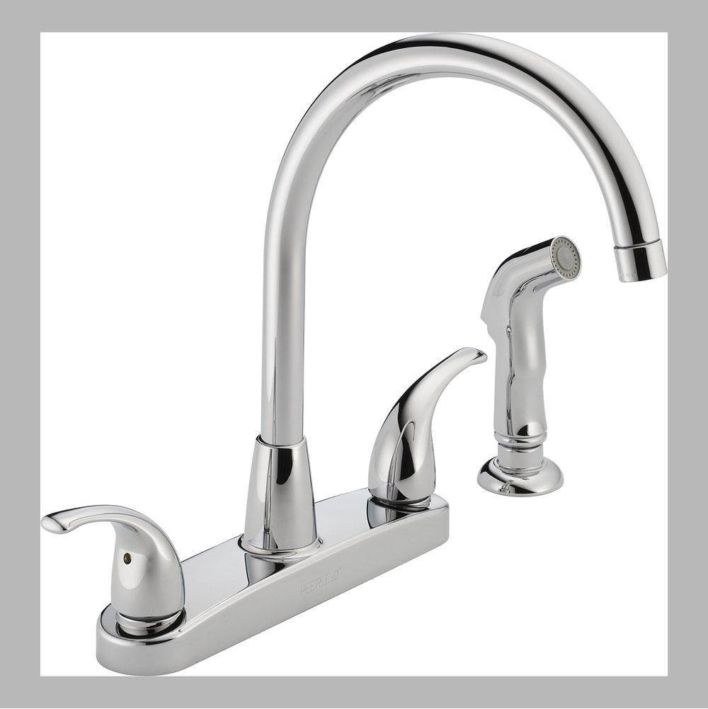 Peerless Deck Mount Kitchen Faucets item P299578LF