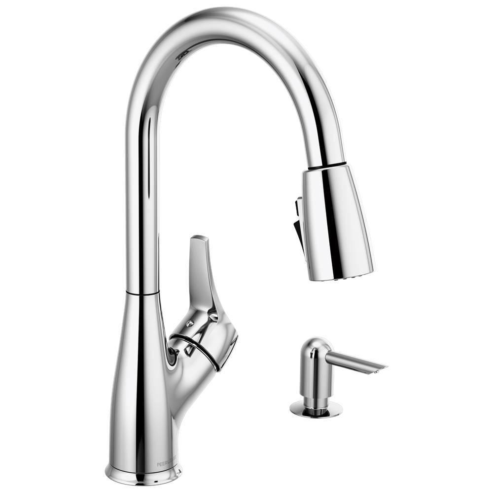 Peerless Kitchen Kitchen Faucets Apex Chromes Carr