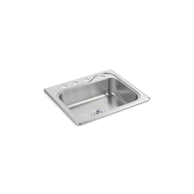 Sterling Plumbing Drop In Kitchen Sinks item F11404-4-NA