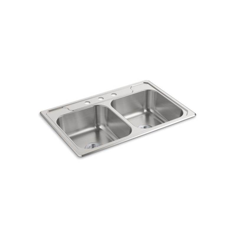 Sterling Plumbing Drop In Kitchen Sinks item 14707-3-NA