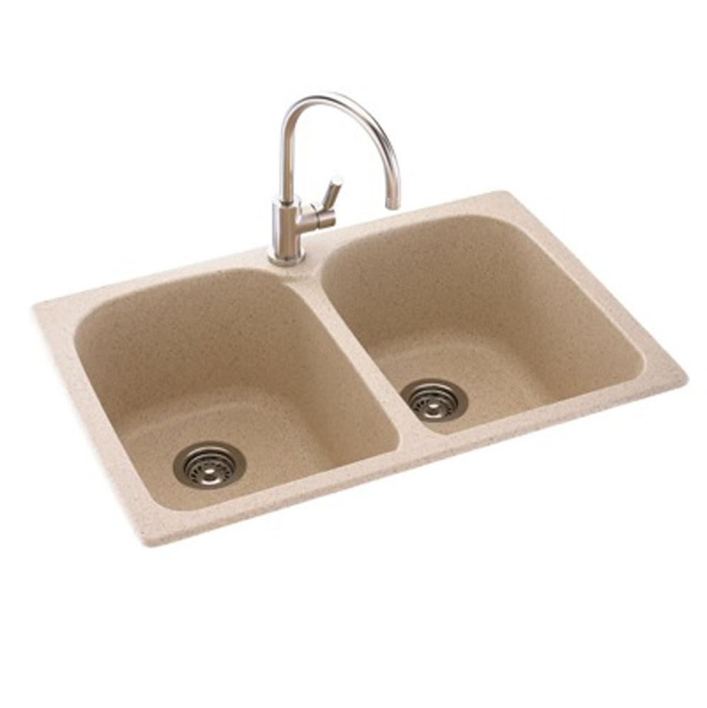 Swan Drop In Kitchen Sinks item KS02233LB.015