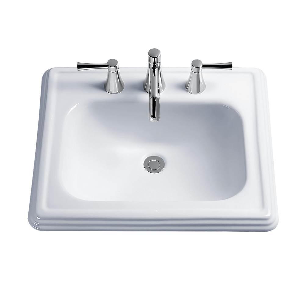 Toto Drop In Bathroom Sinks Item LT531.4#03
