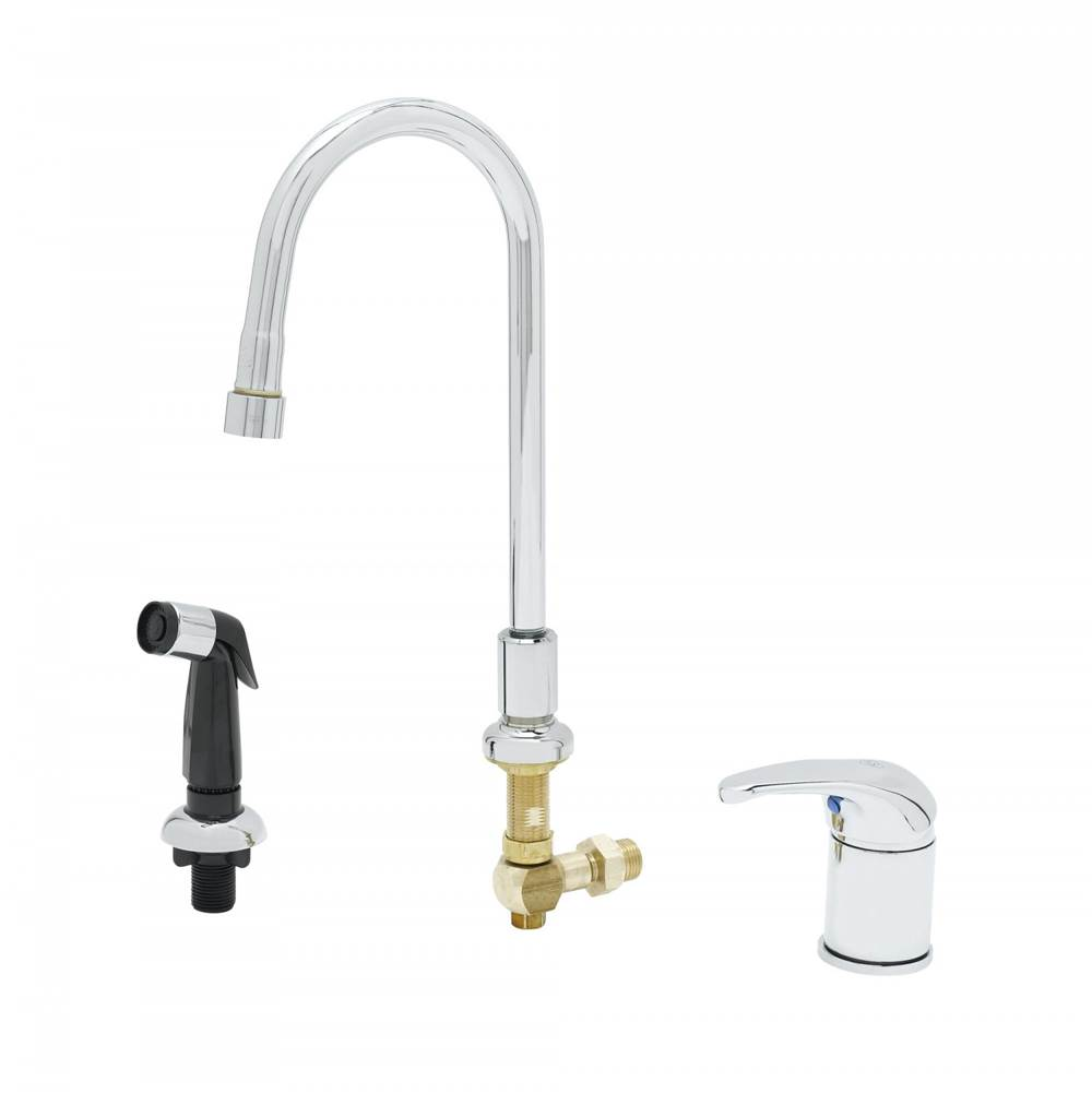 T&S Brass Single Hole Kitchen Faucets item B-2744